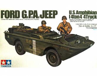 Сборная модель Американская 4-тонная амфибия Ford G.P.A. с 2 фигурами