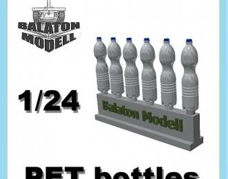 Пластиковые бутылки (PET bottles) 1.5 л, 6 шт.