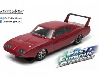 "DODGE Charger Daytona Custom из к/ф ""Форсаж VI"" (1969), dark red"