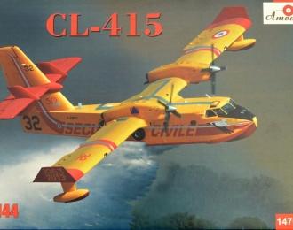 Сборная модель Канадский пожарный самолет-амфибия Canadair Cl-415