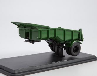 Полуприцеп-самосвал МАЗ-5232В, зеленый