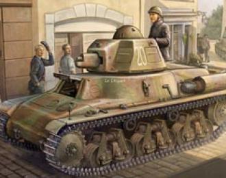 Сборная модель  French H38/39 Light tank
