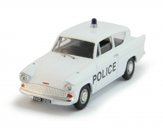 FORD Anglia Liverpool and Bootle Police, white