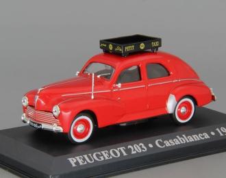 PEUGEOT 203 Casablanca (1960), red