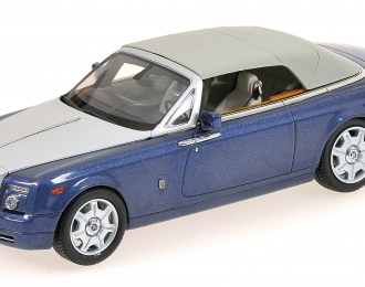ROLLS-ROYCE Phantom Drophead Coupe,  metropolitan blue