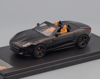 JAGUAR F-TYPE V6 S (2013), black / brown interior