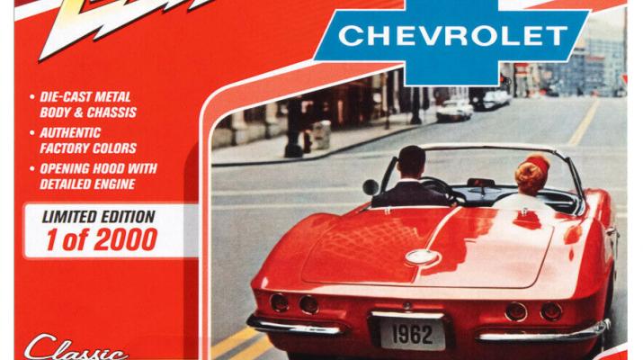 CHEVROLET Corvette (1962), grey / white
