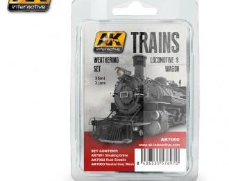 teractive Trains Weathering Set Vol. 1 (набор из трёх красок)
