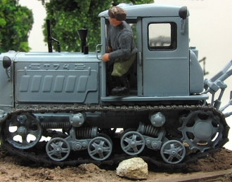 Т-74 ранний (серый чистый)