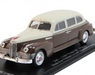 (Уценка) ЗИС 110 Такси (1956), бежевый / коричневый
