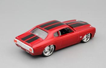 СHEVROLET Chevelle, red metallic