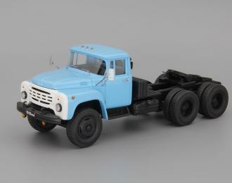 ЗИЛ-133В Тягач трехосный опытный, голубой