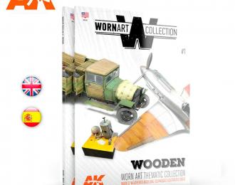 "Книга на английском языке ""WORN ART COLLECTION - Wooden"""