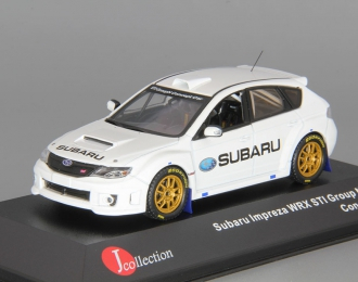 SUBARU Impreza WRX STi Group N Concept Car (2010), white