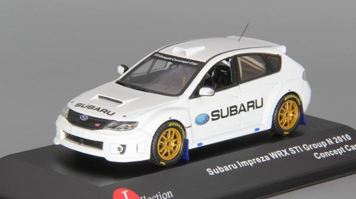 SUBARU Impreza WRX STi Group N Concept Car (2010), white