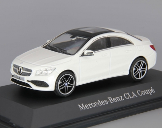 MERCEDES-BENZ CLA Coupe C117 (2016), white cirrus