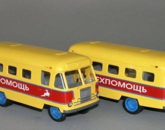 Сборная модель ГЗТМ-56 техпомощь (1956)