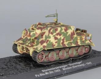"""Sturmmorserwagen """"Sturmtiger"""" Pz.Stu.Mr.Btr.1002 Minden (Germany) - 1945"""
