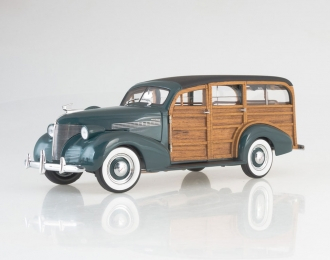 CHEVROLET Woody Station Wagon, green / brown