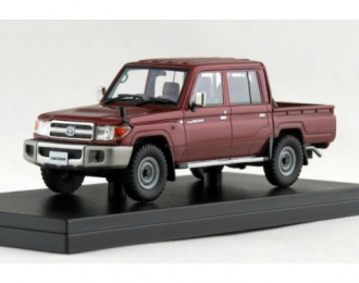 TOYOTA Land Cruiser 70 Anniversary Pick up (TLC79) (2014), red