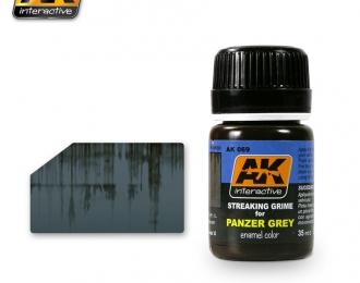 Смеси для нанесения эффектов STREAKING GRIME FOR PANZER GREY (полосы грязи для немецкого серого)