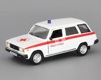 ВАЗ 2104 Медицинская Служба, белый