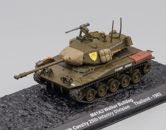 M41A3 Walker Bulldog 4th Cavalry 25th Infantry Division Thailand (1962), Автомобиль на Службе Спецвыпуск