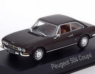 PEUGEOT 504 Coupe (1969), brown metallic