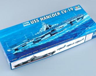Сборная модель Американский авианосец USS HANCOCK CV-19