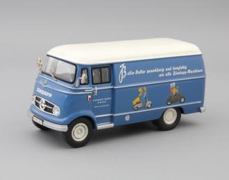 MERCEDES-BENZ L319 Bella-Roller, blue / white