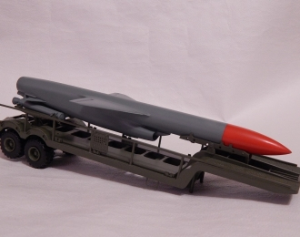 Сборная модель Прицеп 5Т58 с противокорабельной крылатой ракетой П-35