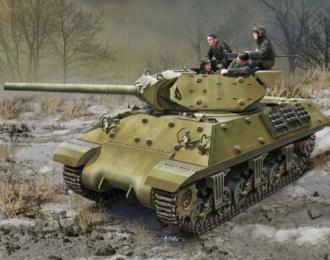 Сборная модель САУ  USSR M10 Lend Lease