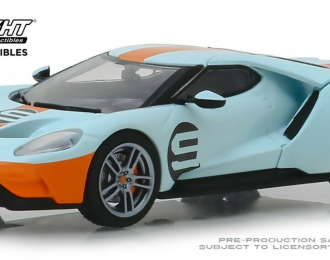"FORD GT Heritage Edition #9 ""Gulf Racing"" 2019 ""Gulf"" Oil Color"