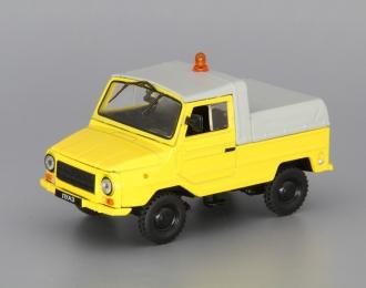 ЛУАЗ 2403 Аэрофлот, Автомобиль на службе 47, желтый