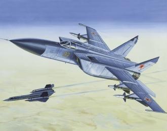 Сборная модель Советский истребитель-перехватчик МиГ-25П