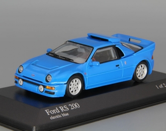 FORD RS 200 (1986), blue