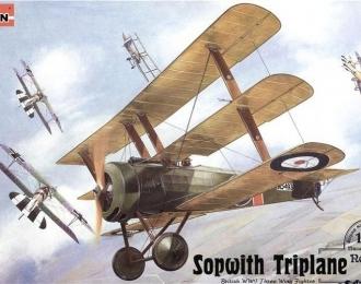 Сборная модель Самолет SOPWITH  Triplane