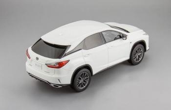 LEXUS RX 200t F Sport, white