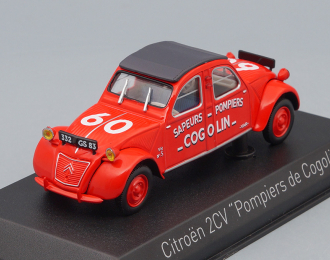 CITROEN 2CV Cogolin « Pompiers »(Тяни-Толкай) 1961 Пожарный, red