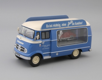 MERCEDES-BENZ L319 Bella, blue / beige