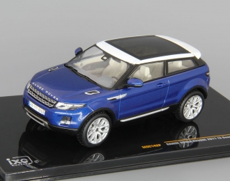 RANGE ROVER Evoque 3d (2011), baltic blue and white