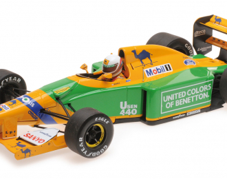 BENETTON FORD B192 BRUNDLE 3RD PLACE GREAT BRITAIN SILVERSTONE 1992