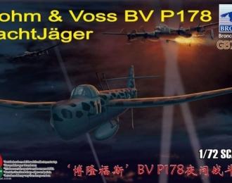 Сборная модель Blohm & Voss BV P178 NachtJäger