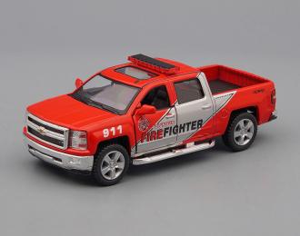 CHEVROLET Silverado Fire Fighter (2014), red
