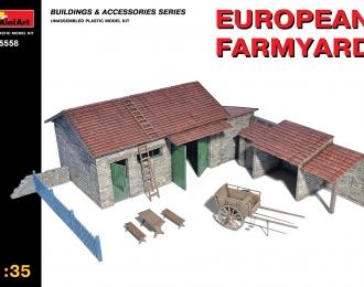 Наборы для диорам EUROPEAN FARMYARD