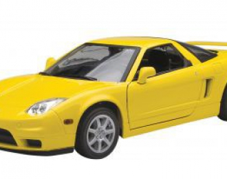 ACURA NSX, yellow