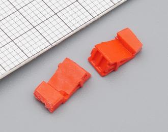 Башмак (Вариант 2), окрашенный красный, комплект 2 шт.