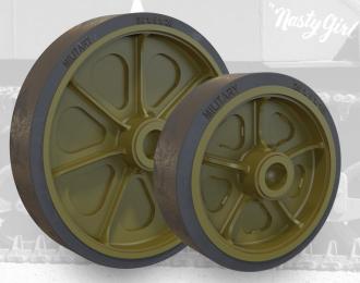 Набор дополнений приварные колесные диски с глухими отверстиями для танка M3 / M3A1 / M5