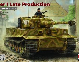 Сборная модель Sd.Kfz. 181 Pz.kpfw.VI Ausf. E Tiger I Late Production