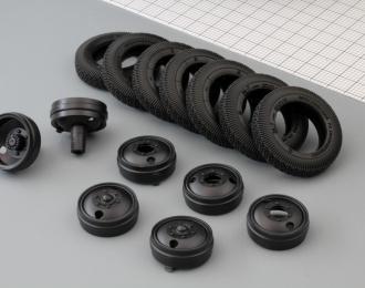 Резина, диски для ЗиС-5 (резина Я-1/И-63, комплект 7 колес)